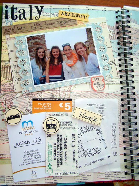 smash book | Scrapacosas: Smash Book: Italy