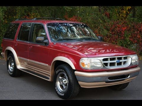 1996 Ford Explorer Eddie Bauer 4wd Ford Explorer Ford Ford