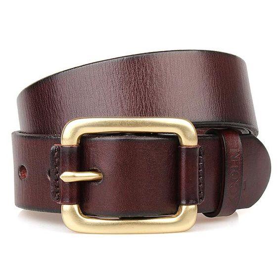 Men Designer Belts Italian Genuine Leather Luxury Wedding Gold Jeans Wide Strap