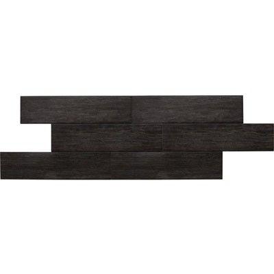 American Olean Terreno Black Forest 6 X 24 Wood Look