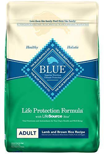 Blue Buffalo Life Safety Method Grownup Canine Meals - Pure Dry Canine Meals for Grownup Canine - Lamb and Brown Rice - 30 lb. Bag #BlueBuffalo #BlueBuffaloLifeProtectionFormulaAdultDogFood-NaturalDryDogFoodforAdultDogs-LambandBrownRice-30lb.Bag #varietypetsupplies