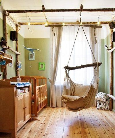 Las sillas colgantes brasilchic resultan ideales para - Sillas colgantes interior ...