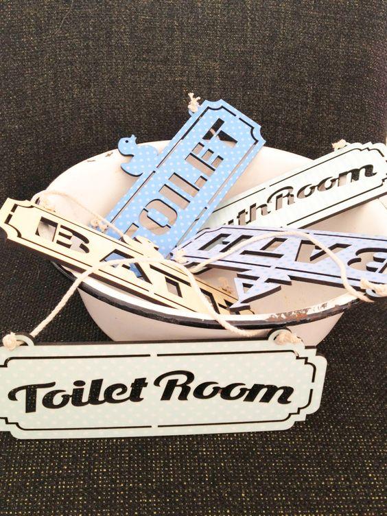 DUCKY* Bath   Toilet sign*   *מיה* מוצרים בניחוח של פעם   מרמלדה מרקט