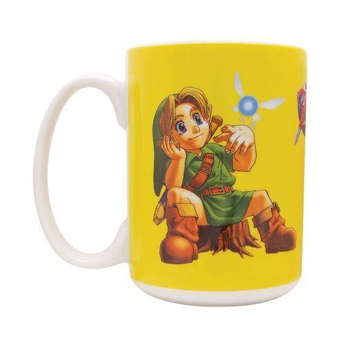 Legend of Zelda Ocarina of Time Lil Link 16 oz. Mug - Dark Horse - Legend of Zelda - Mugs at Entertainment Earth