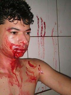 Reação de um vampiro ao ver sua vitima morta!!