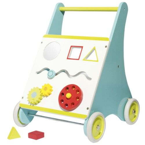 chariot de marche et ses 5 activit s oxybul pour enfant de. Black Bedroom Furniture Sets. Home Design Ideas