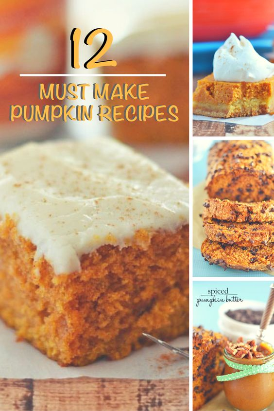 Quite honestly, I can eat pumpkin anything year-round, but I really ramp up my pumpkin consumption during the months of October and November. Here's 12 of my favorite must-make pumpkin recipes! | Pumpkin Recipes for Fall | Fall Recipes || Kitchen Meets Girl