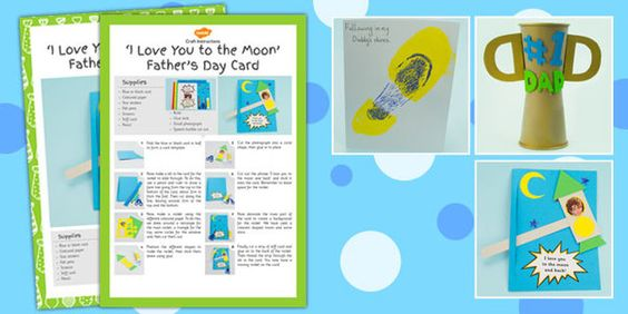 Father's Day Craft Activity Pack - fathers day, craft, activity