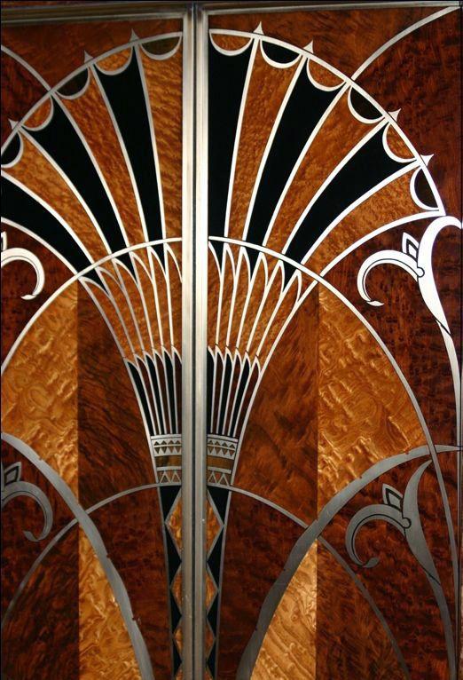 art d co chrysler building new york int rieur ascenseurs art deco pinterest. Black Bedroom Furniture Sets. Home Design Ideas