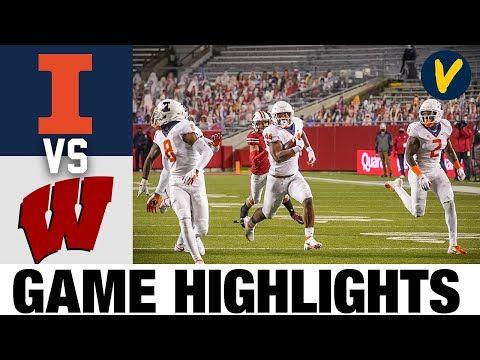 Illinois Vs 14 Wisconsin Highlights Week 8 2020 College Football Highlights Youtube In 2020 Football Highlight College Football Wisconsin