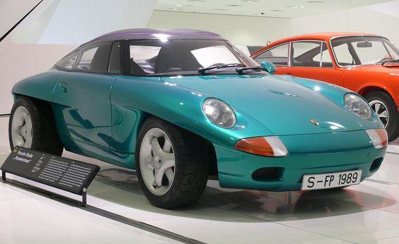 Peugeot RCZ roof inspiration https://flic.kr/p/a9CmnG | Porsche Panamericana 1989 green vr