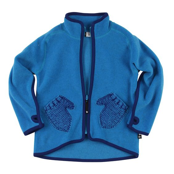 Ushi Fleece Jacket/Electric Blue | shop stock | Pinterest ...