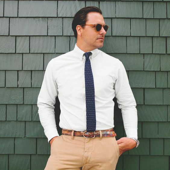 Fancy - The White Everyday Oxford Jack