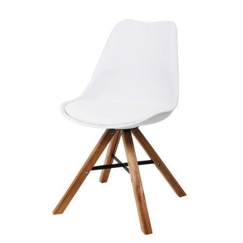Eetkamerstoelen witte moderne kuipstoel interieur pinterest reinigingen en ontwerp - Modern eetkamer model ...