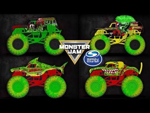 Monster Jam 2020 Zombie Invasion Series Revealed Youtube Monster Jam Monster Trucks Boys Room Decals