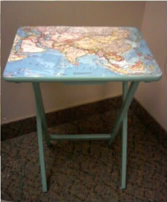 Map Table  Great idea, I can fix my table now!