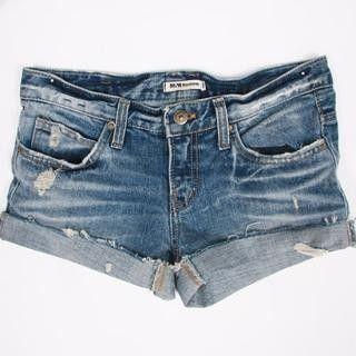 DIY cut-off jean shorts tutorial!!!