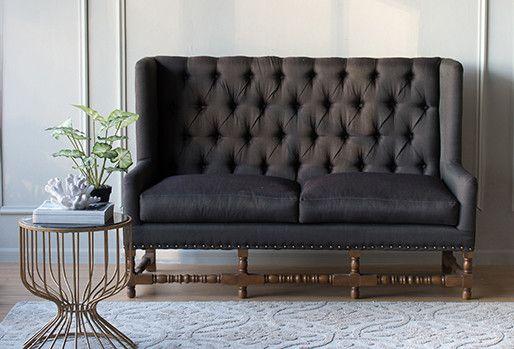 Alba Charcoal Sofa Philbee Sofas Lounge Sofa Sofa Lounge