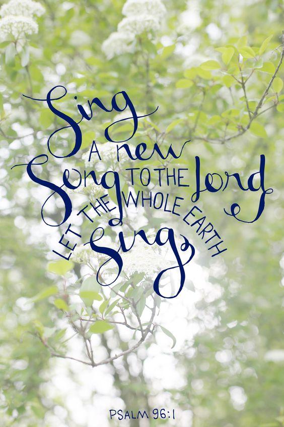 National Day of Prayer Psalm 96:1
