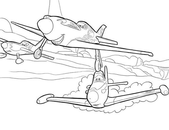 Disney Planes FREE Printable Coloring Pages   Free disney coloring ...   436x564
