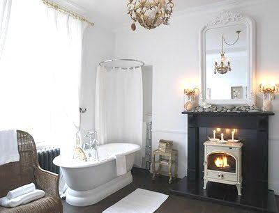 Modern Victorian Bathroom The White Log Burner Favorite Places Spaces Pinterest
