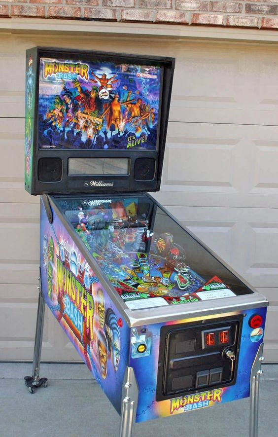 Monster Bash #pinball #flipper #horror