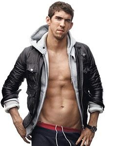 Michael Phelps. Everyone thinks he's ugly, I think he is beautiful :) I loved him in since Athens. He will always be my favorite.