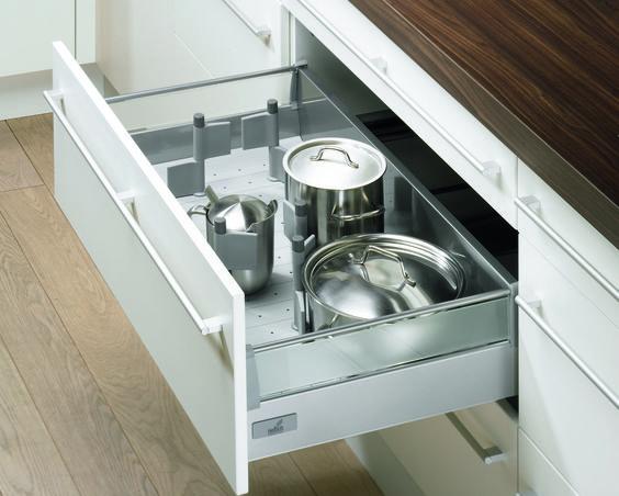 Am nagement de tiroir hettich disponible sur for Separateur tiroir cuisine