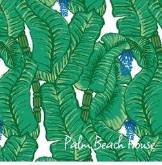leaf pattern green