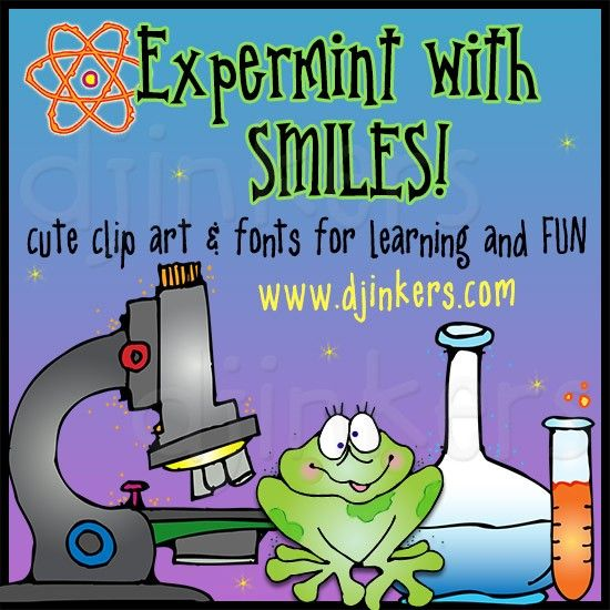 Fun Kids Clip Art For Teaching Science And Math By Dj Inkers Math Clipart Science Clipart Clip Art