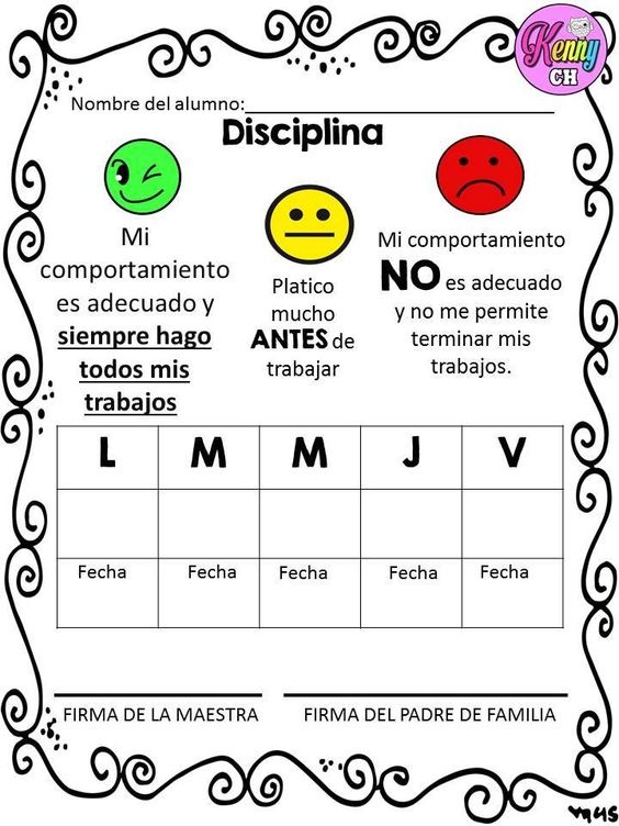 Sem foros de conducta 6 normas del aula pinterest for Actividades para el salon de clases de primaria