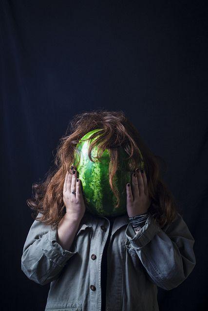 Kelly Watermelon - Portraits | par Remy Carteret