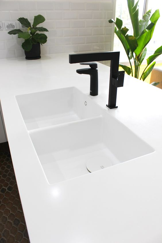 Young Family Residence | Corian