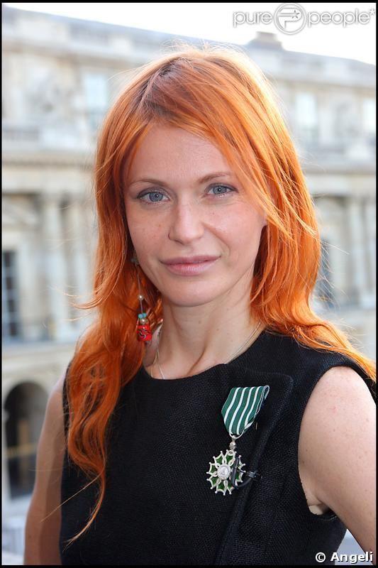 La chanteuse Axelle Red