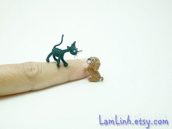 1000  images about miniature crochet animals on Pinterest