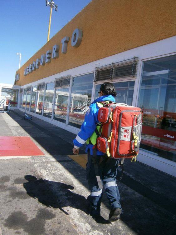 Servicio de Emergencia del Aeropuerto Internacional de Zacatecas. OMNI Pro Fire de Meret. EMS México     Equipando a los Profesionales