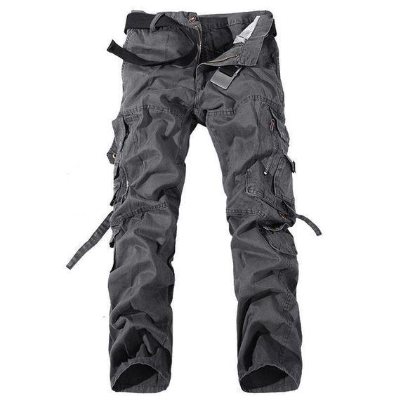 resistenti modello cargo Proluxe vari colori disponibili Pantaloni da lavoro da uomo con tasche imbottite sulle ginocchia e cuciture rinforzate