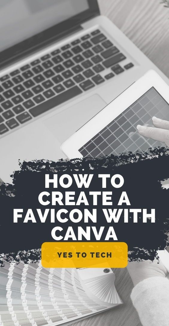 How To Create A Favicon With Canva Favicon Design Canva Tutorial Branding Website Design