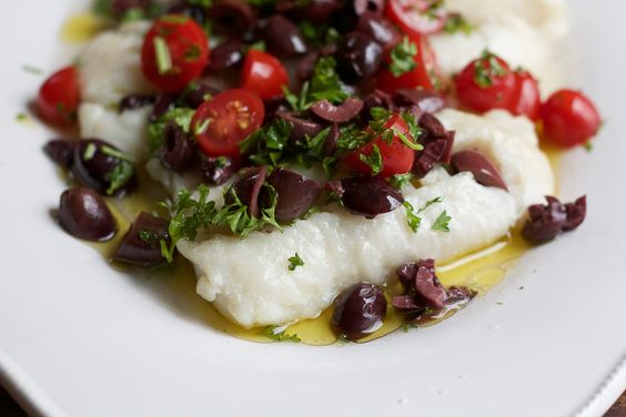 Baked Cod with Olive Topping - Hip Foodie Mom