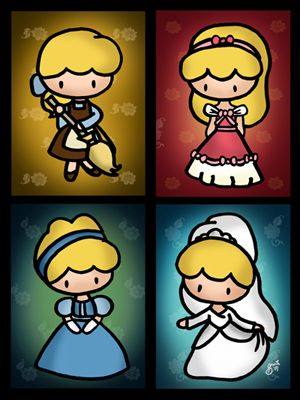 The Evolution of Cinderella, by Sheena Sy
