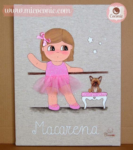 COCONIC decoración infantil : Un regalo muy especial para la boda de Mariló