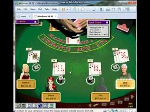 Hoyle Casino 1999 Blackjack Game 3 1 2