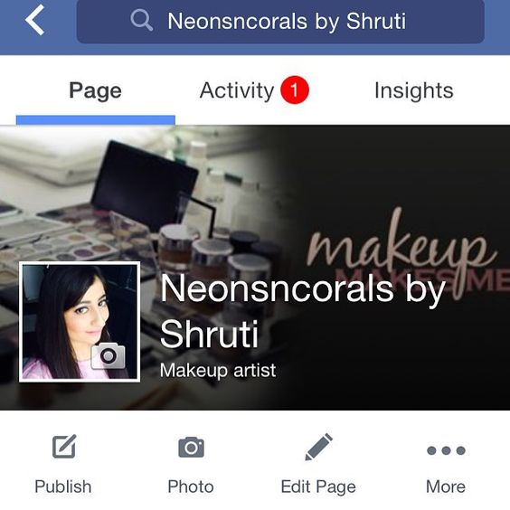 Hi #instagramers #neonsncorals is on #facebook now like my #facebookpage n show me ur support link is in the bio #shrutimakeupartist #makeupartistshruti #makeupartistdelhi #makeupartistsworldwide #mua #muashoutouts