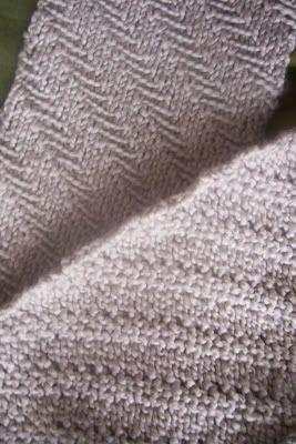 Dapper Herringbone Scarf « Knitting!