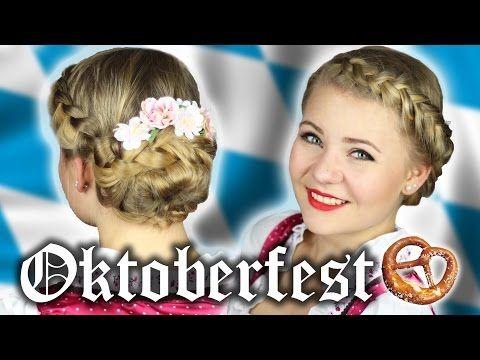 Oktoberfest Frisur Einfach Geflochten Wiesn Youtube Oktoberfest Frisur Einfach Oktoberfest Frisur Einfach Flechten