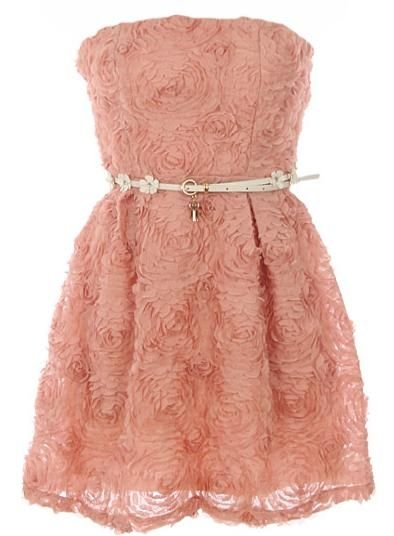 """Swirled Cupcake Dress"" - this is fit for a princess! How cute would this be with off-white gloves for a wedding or for the bridesmaids"