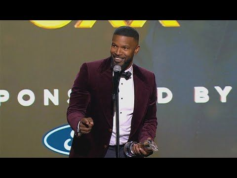 Jamie Foxx Performs Wanda Kanye West Impressions In Hilarious Speech Urban One Honors Youtube In 2020 Hilarious Kanye West Jamie