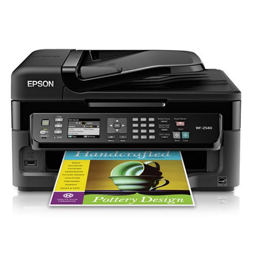 Epson WorkForce WF-2540 Wireless All-In-One Printer