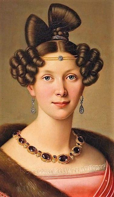 Portrait of a Lady by Friedrich Wilhelm Herdt
