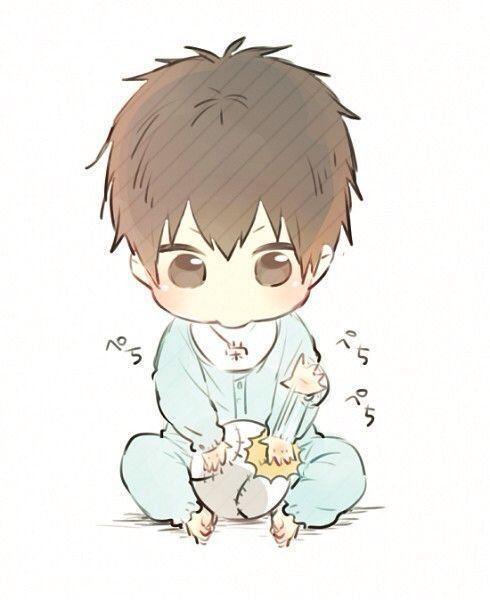Anime Newborn Baby : anime, newborn, Wrath's, (Male, Reader, Seven, Deadly, Harem), Anime, Chibi,, Child,